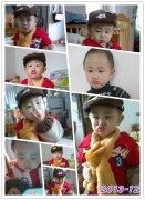 戴天宇1-3岁每月照片合集
