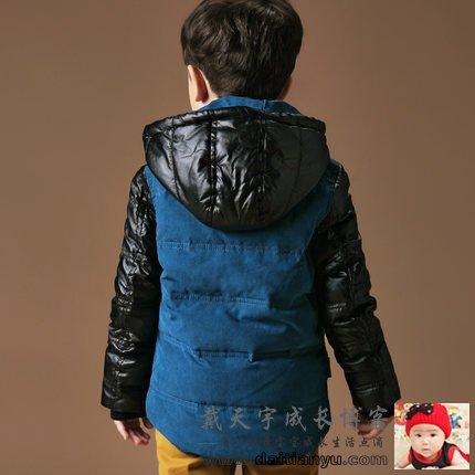 儿童羽绒服2014新款宝宝男童女童中长款加厚童装小童正品冬装外
